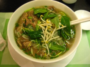 A bowl of pho a day may keep the doctor away.